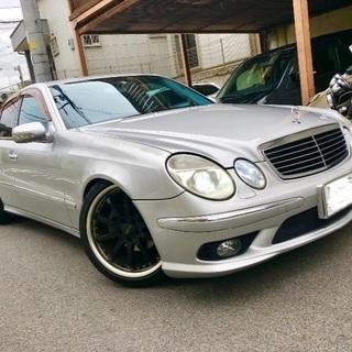 【交換・下取可】 w211 Eクラス AMGパッケージ 車検H3...