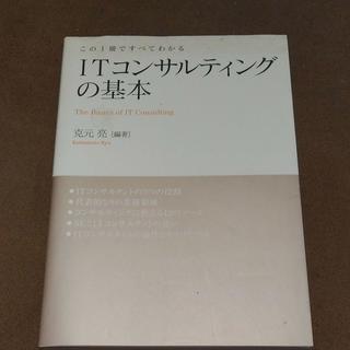 ITコンサルティングの基本 : この1冊ですべてわかる
