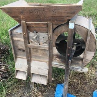 レトロ農機具