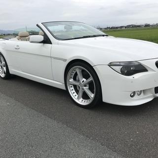 BMW 6シリーズ 650i カブリオレ オープンカー