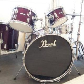 ドラムセット(Pearl)フルセット