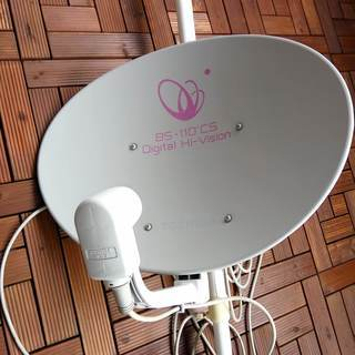 BS、110度CS対応アンテナ + おまけ
