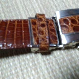 鰐革ベルト