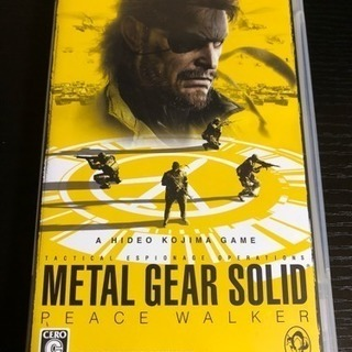 PSP メタルギアソリッドPW