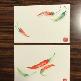 絵手紙サークル(水彩画)  心のこもった手描きの絵手紙一緒に始め...