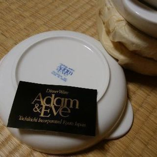 タチキチスープ皿Adam&Eve5点セット