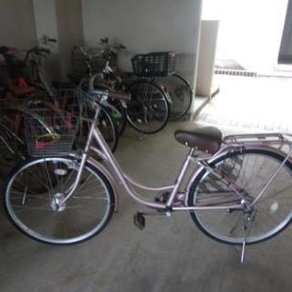 値下げ!26インチ自転車 内装3段ギア 美品です。