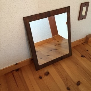 antique mirror リメイク