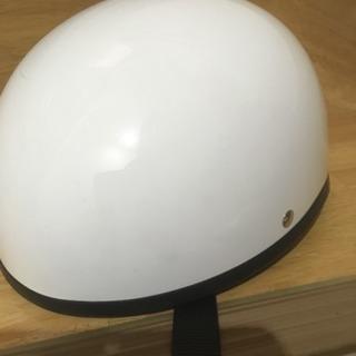 半キャップのヘルメット