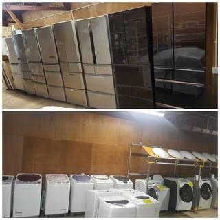 【家電市場 岩槻店】冷蔵庫、ドラム洗濯機、オーブンレンジ、炊飯器...