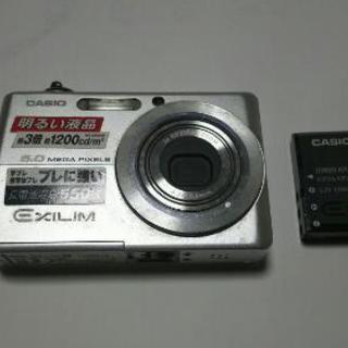 CASIOデジタルカメラ
