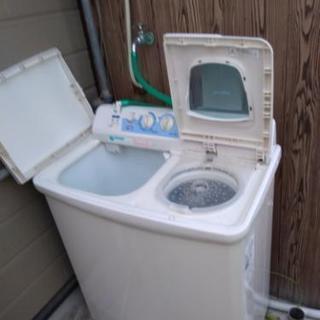日立 二層式洗濯機