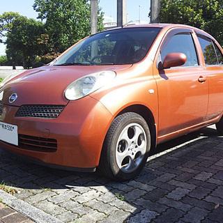 充実装備 日産 マーチ 車検31年10月  平成14年
