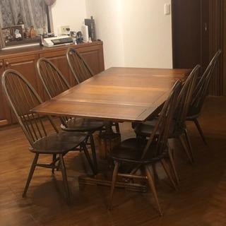 アーコール ERCOI チェアー 椅子 ダイニングテーブルセット