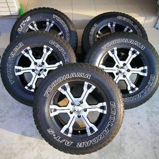 タイヤホイール4本セット+スペア1本 合計5本セット 235/70R16