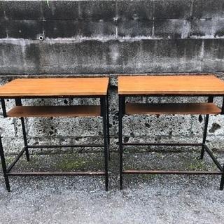 カフェテーブル 2台