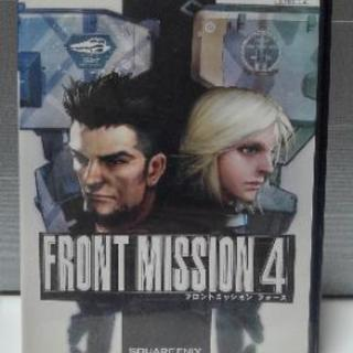 PS2 Front Mission 4 (フロントミッション4)