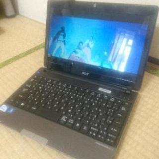 【高速モバイルノート】 高速SSD搭載 acer ノートパソコン...