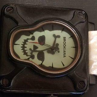 BROOKIANAスカル時計