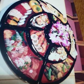 オードブル、中華、おせち料理などの盛り合わせ回転皿   中…