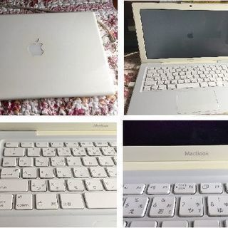 新着!美品!MacBook MA700 / J/A/Window...