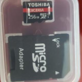 TOSHIBA micro SD 256GB 売れました