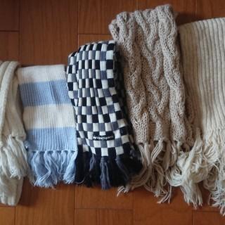 毛糸のマフラー