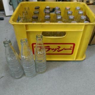 昭和レトロ プラッシー 空き瓶 27本 タケダ アンティーク
