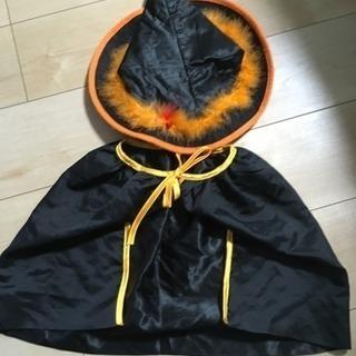 ハロウィン用🎃マント&三角帽子🎃ベビーにぴったり🎶