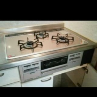 ガス給湯器、コンロ取り替え工事お安く承ります。