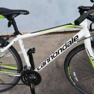 キャノンデール 軽量なクロスバイク3-9段変速