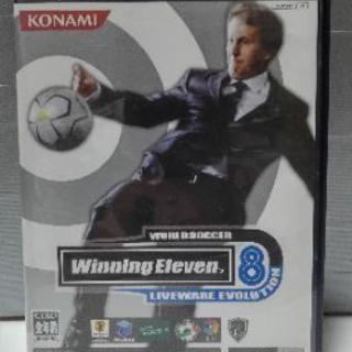 PS2 ウイニングイレブン8 ライヴウエアエヴォリューション