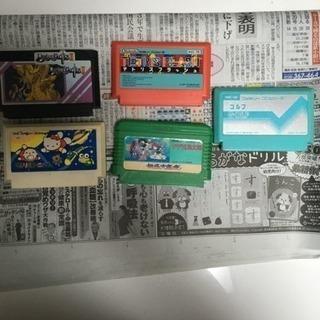 ファミコン カセット 5点