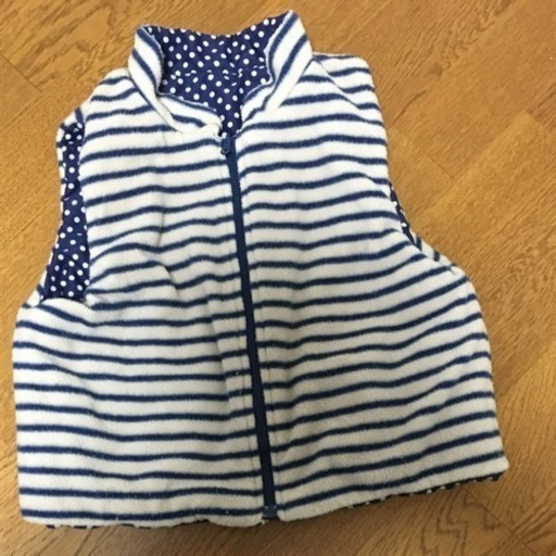 152f6fd3bd7a4 ラグマート リバーシブルベスト 100 (きりこ) 南魚沼の服 ファッションの ...