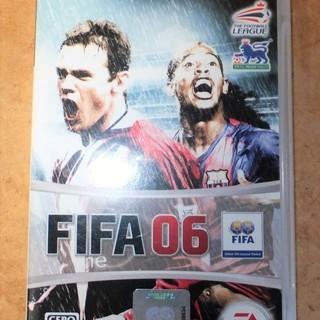 ☆PSP/FIFA06 FIFA公認サッカーゲーム◆これが世界最...