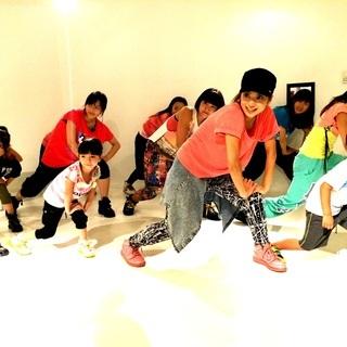幼児から大人まで楽しめるストリートダンス(KIDS.HIPHOP....
