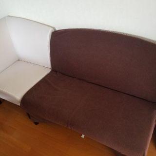 伸長式ダイニングテーブル + ソファーセット