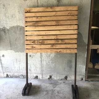originlアンティーク風木製パーテンション - 家具