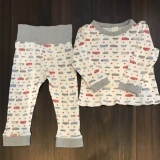 ワッフル素材のパジャマ