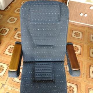 回転座椅子 6段リクライニング
