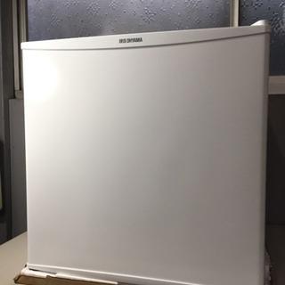 【未使用品】2018年製アイリスオーヤマ1ドア冷蔵庫45L