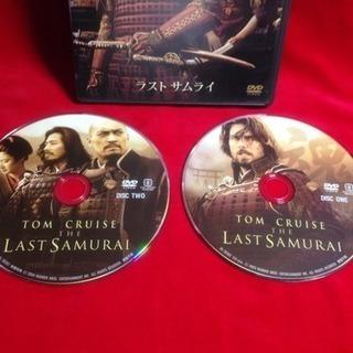 DVD  ラストサムライ トムクルーズ主演 特典映像 2枚組 セル版