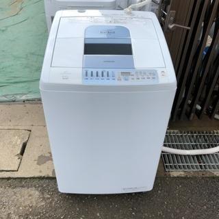 【HITACHI】洗濯乾燥機/8.0kg/2008年製