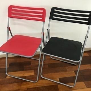 パイプ椅子 折りたたみ式 計20脚
