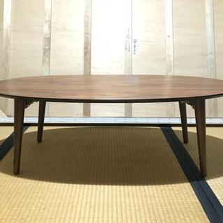 折りたたみ楕円テーブル