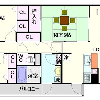 【グランソレイユ日本橋】3LDKタイプ!全戸南向きで日当たり良好!!