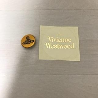 Vivienne  Westwood ステッカー&缶バッヂ