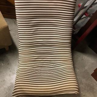 回転型の座椅子1人掛けソファー