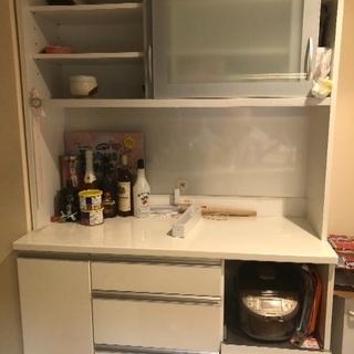 ニトリ 食器棚 キッチンボード 120