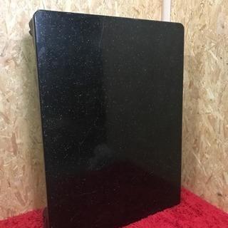 座敷机、テーブル、黒色